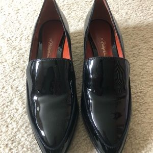 3.1 Phillip Lim Quinn patent leather loafers black